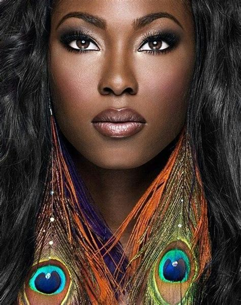 dark skin alluring beautiful desirable from their own