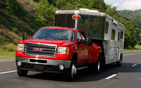 gmc towing what is the towing capacity for gmc 2500 hd with a fifth