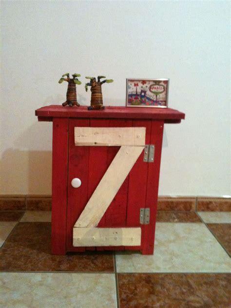 table de nuit en palette table de nuit en palette de montage z
