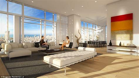 inside s penthouse inside 163 36million tel aviv penthouse madonna has eye on daily mail