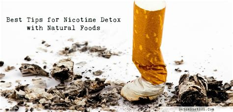 All Nicotine Detox by Best Tips For Nicotine Detox With Foods