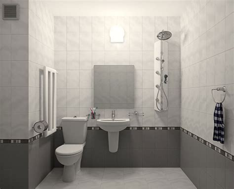 contoh desain keramik kamar mandi minimalis contoh kamar mandi modern terbaik fimell