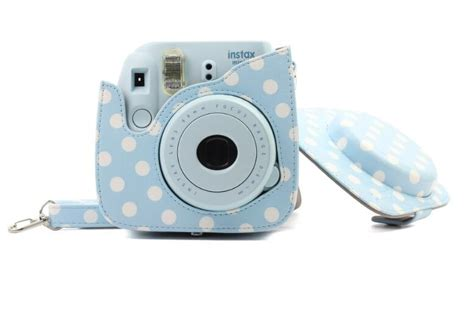 Fujifilm Leather Bag Polaroid Instax Mini 8 Hello Diskon produs classic pu leather polka dot bag for polaroid fujifilm instax mini 8 mini 9