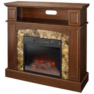 Essential Home Electric Fireplace by Essential Home Caldwell Electric Fireplace Kmart