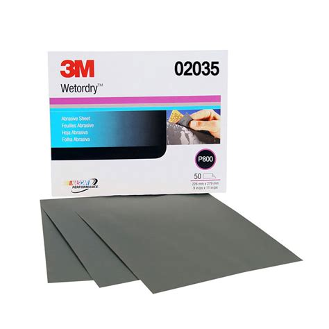800 Grit Sandpaper by 3m 02035 800 Grit Or Sand Paper