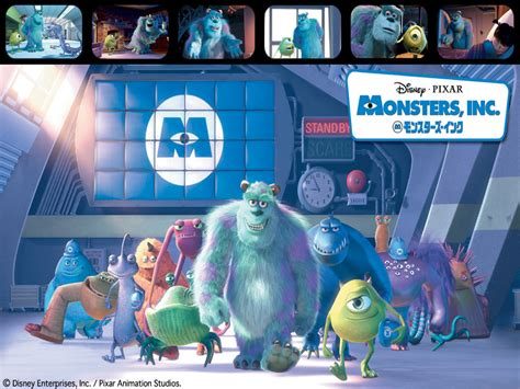 monsters inc pixar wallpaper 67294 fanpop