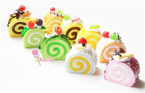 Squishy Roll Cake squishy swissroll log cake with fruits and icing 183 uber