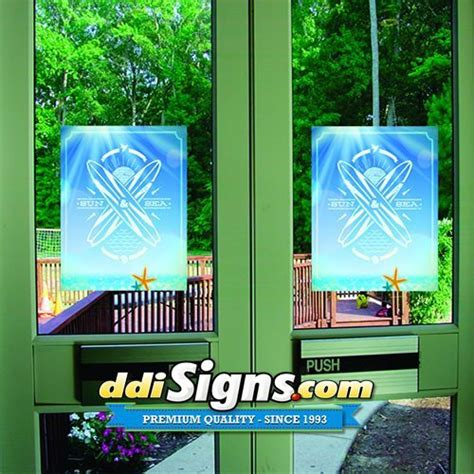 Window Decals Double Sided by Ddi Signs Window Graphics Window Decals Sports Arena