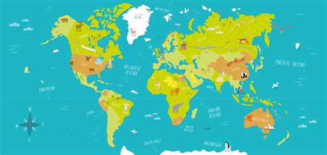 illustration of world map with country name illustrated world map tom woolley illustration