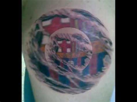 tatuaje escudo del barcelona sporting club youtube