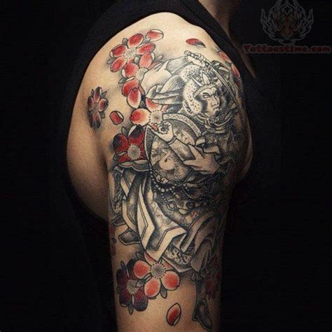 celtic horse flower tattoo samurai japanese color flower