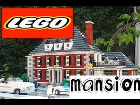 building a mansion how to build a lego mansion part 1 youtube