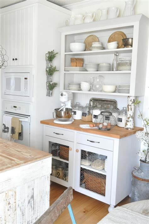 rustic white kitchen rustic white kitchen pottery barn shopping