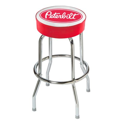 White Parts In Stool by Peterbilt Bar Stool Novelty Mugs Keychains Glasses