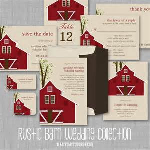 wedding invitations barn theme berryberrysweet rustic barn wedding invitations