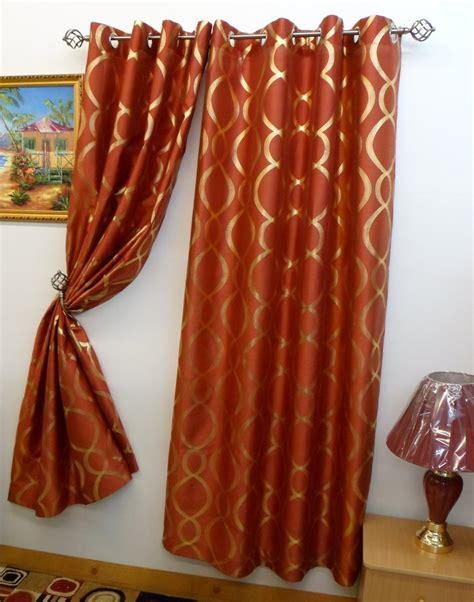 orange silk drapes simple family room with burnt orange gold curtains panels