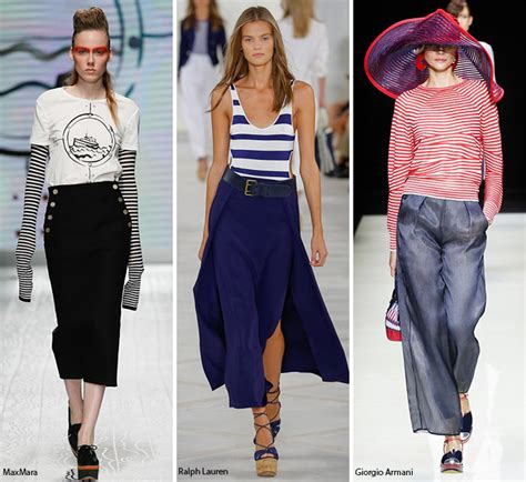 Trends Nautical by Summer 2016 Fashion Trends Fashionisers