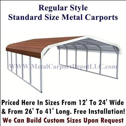 Metal Carport Prices   Easy To Order Online   Metal