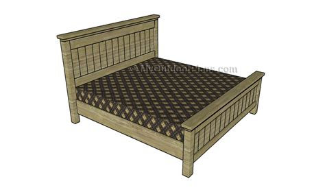 king size bed plans king size bed plans