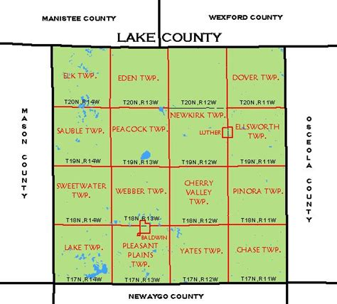 Property Tax Records Michigan Lake County Parcel Map Aphisvirtualmeet