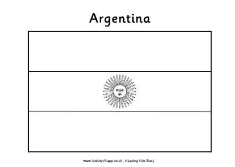 bandera de argentina para colorear para imprimir gratis pintamos banderas argentinas para el 20 de junio im 225 genes