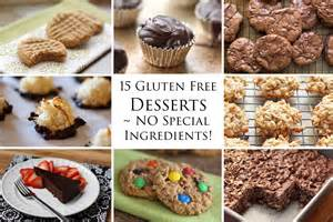 Kitchen 15 delicious gluten free desserts no special ingredients