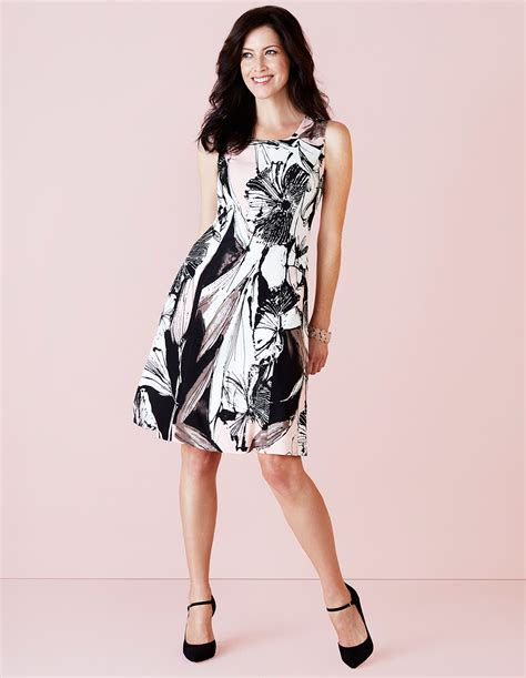 Cleeo Dress a line floral dress cleo