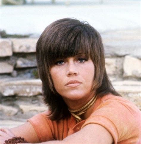 jane fonda 1970 hairstyle retro style my hair and style on pinterest