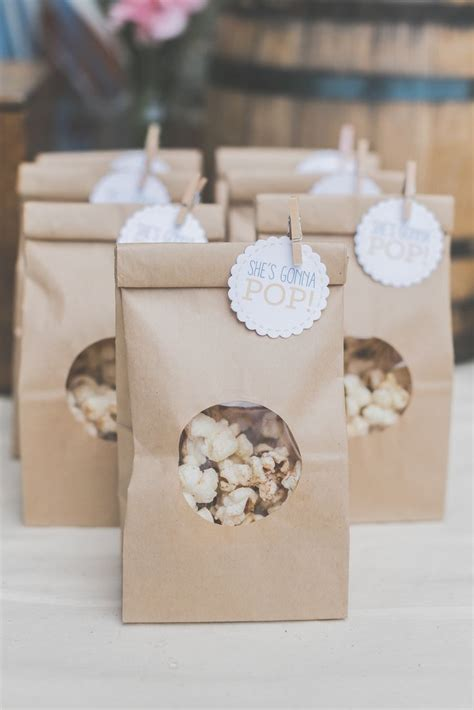 baby shower favor gift ideas best 25 popcorn bags ideas on baby shower