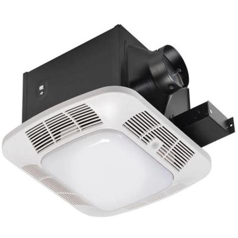 Home Depot Bathroom Fan Light Hoover 110 Cfm Ceiling Exhaust Bath Fan With Cfl And Lights Discontinued 7128 02 At The