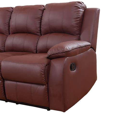 extra large leather sectional extra large leather reclining corner sectional sofa for