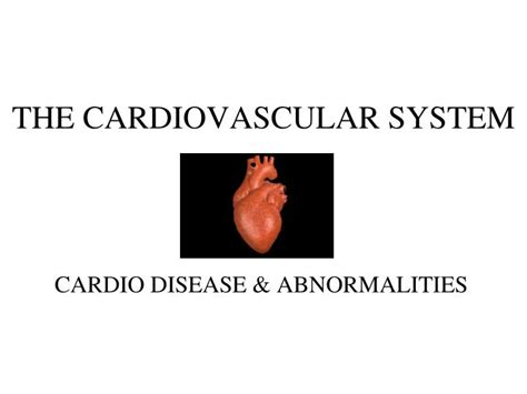 Ppt The Cardiovascular System Powerpoint Presentation Powerpoint On Cardiovascular System