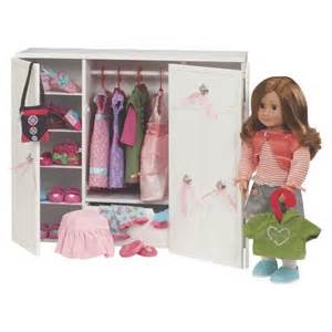 Melissa And Doug Armoire Wooden Wardrobe Our Generation Target