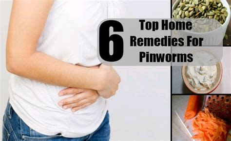 top 6 home remedies for pinworms treatments