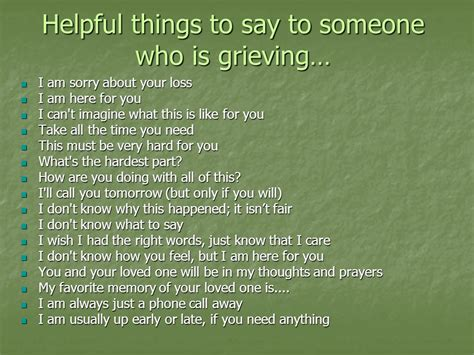 grief and loss ppt video online download