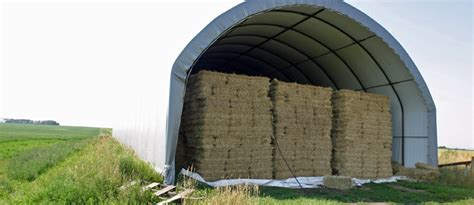 shed storage for hay can pay for itself through retention