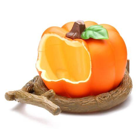 pumpkin plastic bird cup bird food feeder alex nld