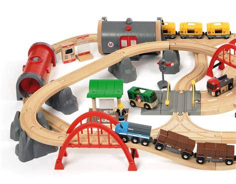 brio railways brio deluxe railway set the granville island toy company