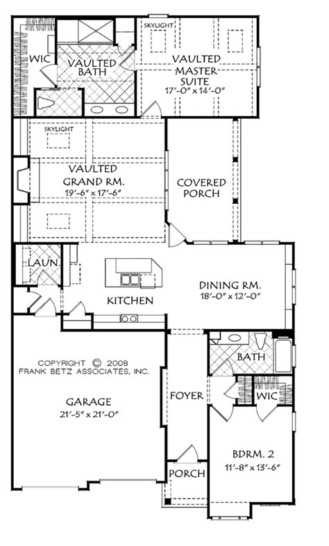 house plan 45 8 62 4 bungalow style house plan 2 beds 2 baths 1813 sq ft plan