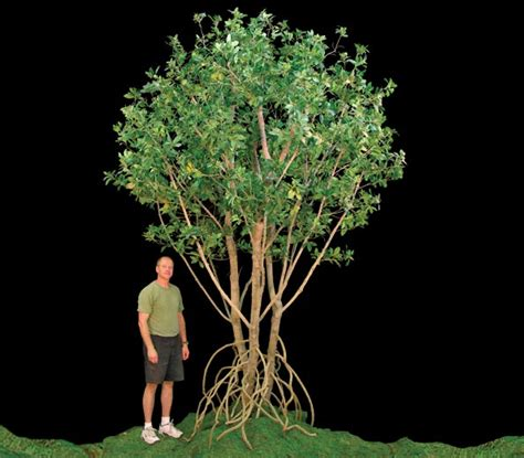 artificial mangrove tree commercial silk int l