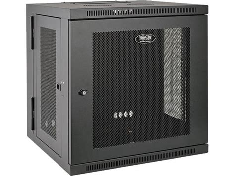 switch cabinet wall mount tripp lite 12u wall mount rack enclosure cabinet hinged