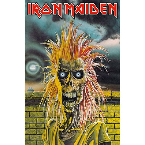 Plakat Iron Maiden backstreetmerch iron maiden textile poster