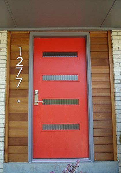 Modern Front Doors For Sale by Best 20 Modern Front Door Ideas On Pinterest Modern