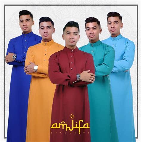 Baju Melayu Untuk Lelaki raya 2015 fesyen baju melayu jubah lelaki terkini khusus untuk lebaran wanista