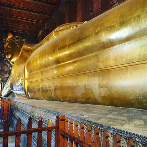 Reclining Budda by A Visit To The Reclining Buddha Bangkok Dishes