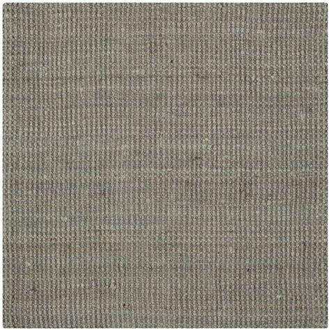 5 square rug safavieh fiber grey area rug square 5 nf730b 5sq