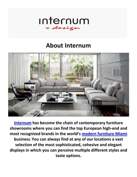go modern furniture miami go modern furniture miami 28 images internum modern