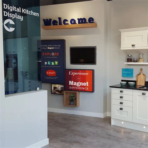 magnet kitchen designs magnet s sutton showroom offers virtual reality kitchen design