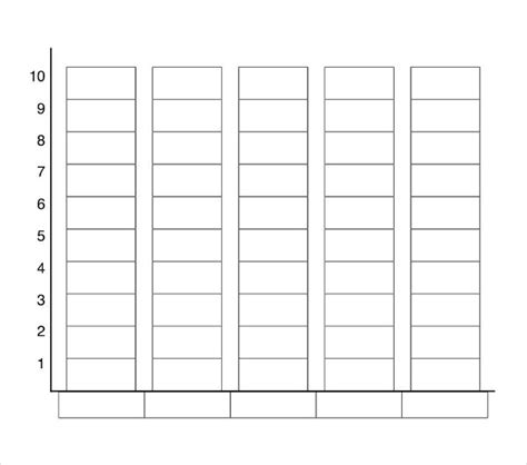 graphing template blank chart graph blank bar graph