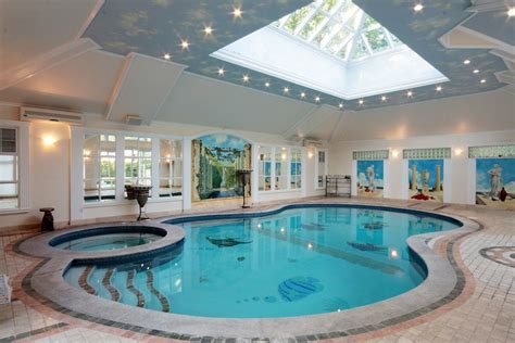 indoor pools for homes 15 elmbank road 5 700 000 pricey pads